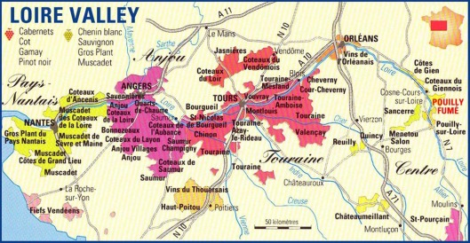 Loire-Valley-Wine-Map